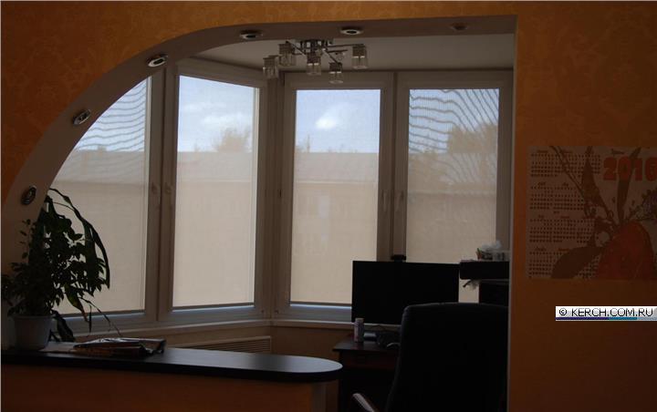 Отзыв о рулонные шторы защита от солнца на балконе.