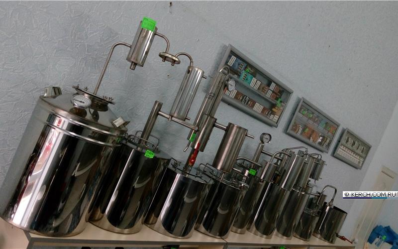 дистилляторы колонного типа