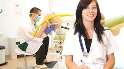 Женское видео женщины проходят медкомиссию у гинеколога 7 фотография