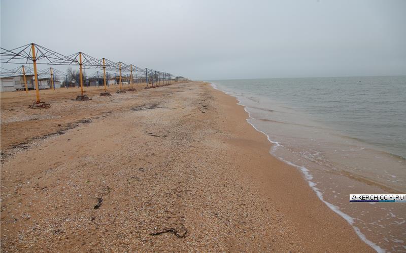 Пляжи в окрестностях керчи