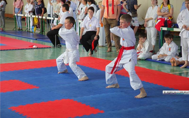 В Керчи проходит турнир по всестилевому карате