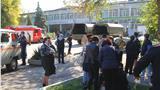 Взрыв и стрельба в керченском колледже (фото)